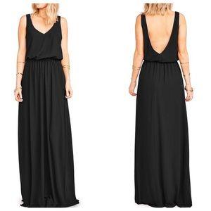 Show Me Your Mumu Kendall Maxi Dress, Black
